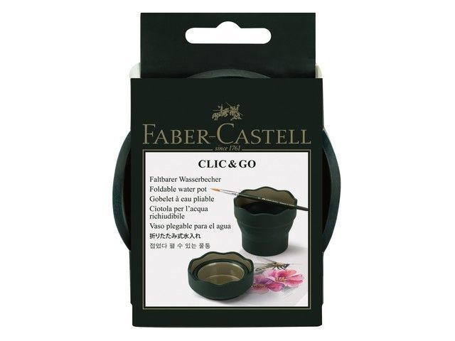 КАНЦ Стакан Faber-Castell 'Clic Go' зелен. FC181520