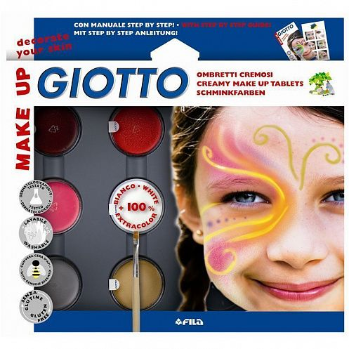 КАНЦ Грим-краска 6цв карнавальная GIOTTO MAKE UP в пл/к 471100